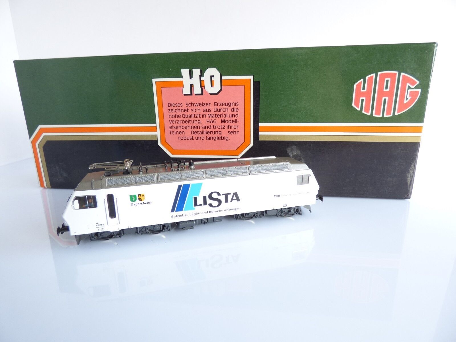 HAG 187 LOCOMOTIVE ELECTRIQUE Re 456 095-6 LISTA