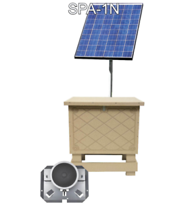 EasyPro SPA-1N Solar Pond Aeration System with Battery Back-up Complete Kit
