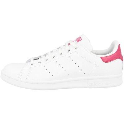 Originale Adidas Stan Smith J Scarpe Originals Retro Sneaker Tempo Libero White Pink Db1207-mostra Il Titolo Originale I Colori Stanno Colpendo