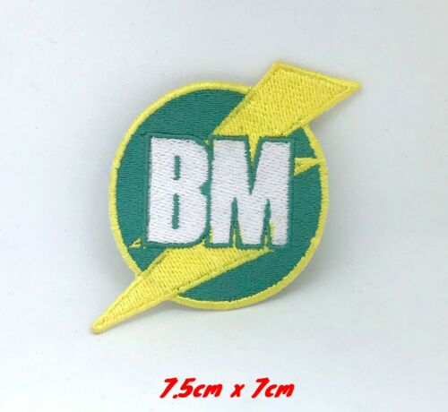 Best Man BM Embroidered Iron on sew on Patch #271