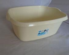 Wham Large Rectangular Washing Up Sink Bowl Basin Calico / Cream NEW
