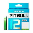 Shimano Pitbull X12 Lime Green 200m 36.2lb Braided PE Line From Japan
