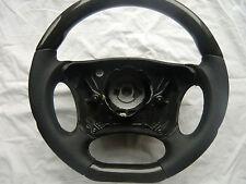 DTM volante in pelle Mercedes classe E w210 CLK w208 AMG legno VOLANTE AIRBAG-VOLANTE