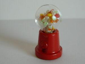 (m15) échelle 1/12th Maison De Poupées Mini Chewing-gum Machine-afficher Le Titre D'origine Shhhrfef-07184029-461035447