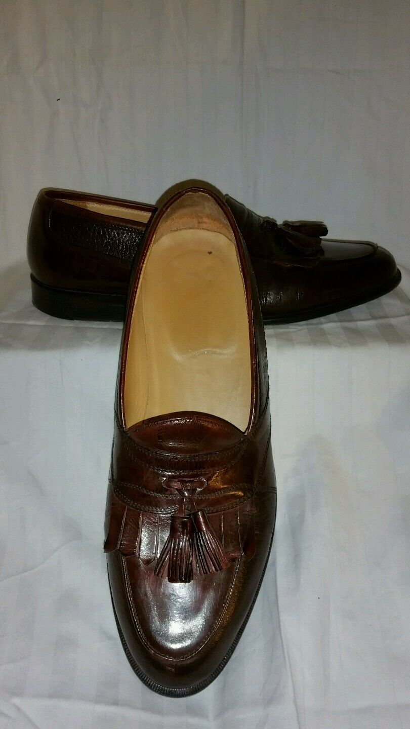 Johnston and murphy M dress shoes sz 10 M murphy made in Italy 965726