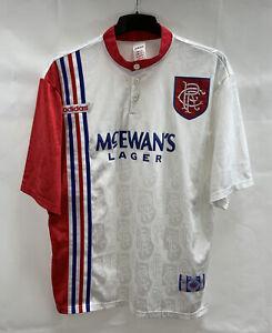 Rangers Away Football Shirt 1996/97 Adults XL Adidas A655