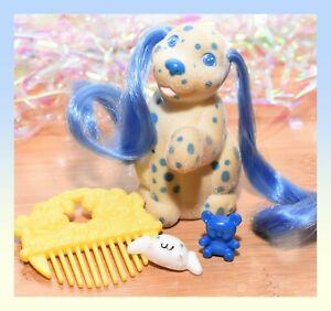 ❤️Vtg Li'l Lil Litters My Little Puppy Pony MLP Dalmatian Dots Dog Mommy COMB❤️