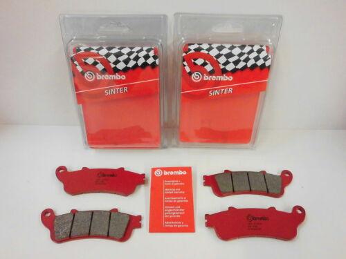Brembo Bremsbeläge Bremsklötze Bremse vorne komplett Honda XL 1000 V  Varadero