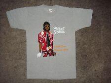 Vintage Michael Jackson 1984 Kansas City Victory Tour t Shirt  pop King Tee  S