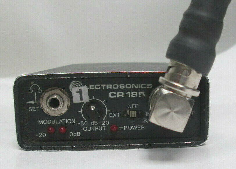 LECTROSONICS CR185 LECTRO WIRELESS RECEIVER