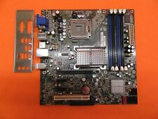 Intel DQ35JOE Motherboard & I/O Plate / Socket LGA775 / 4 Slots DDR2 / Tested