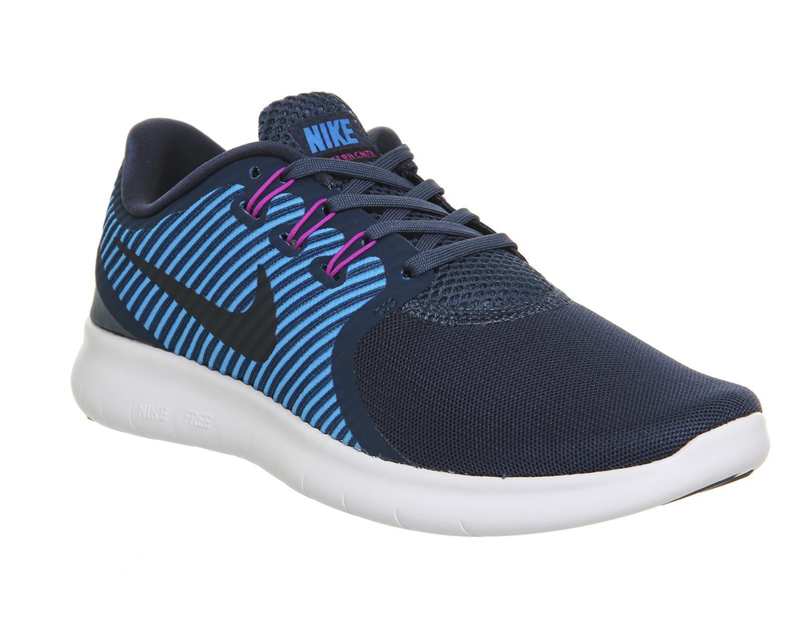 Da Donna Nike Free RN cmtr Blu Corsa Scarpe Scarpe Scarpe da ginnastica 831511 400 858413
