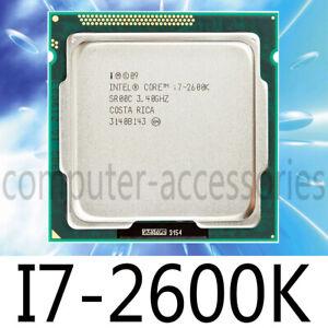 Intel Core i7-2600K i7 2600K 3.4 GHz 4 CORE 8MB LGA1155 95W CPU Processors