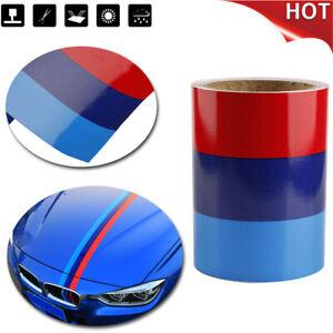 5FT-1-5M-Car-M-Colored-Door-Body-Decorative-Stripe-Sticker-Decal-Vinyl-For-BMW
