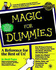 Magic For Dummies by David Pogue (Paperback, 1998)