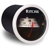 Ritchie X-21 In-dash Marine Compass White 2 on sale