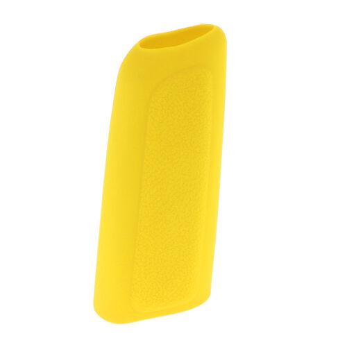 5 Speed Manual Gear Stick Shift Knob+Handbrake Cover Silicone Sleeve Yellow