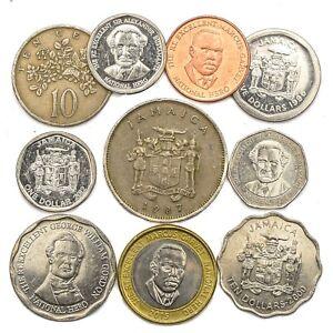 10 COINS FROM JAMAICA OLD COLLECTIBLE JAMAICAN COINS CARIBBEAN ISLAND DOLLAR | eBay