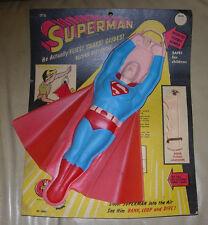 TRANSOGRAM  FLYING SUPERMAN  1954  WITH SCARCE ORIGINAL CARD  #3083  USA