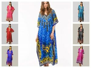 HOLIDAY-TOP-PLUS-SIZE-KAFTAN-BEACH-COVER-UP-GOWN-TUNIC-DRESS-ABAYA-CAFTAN