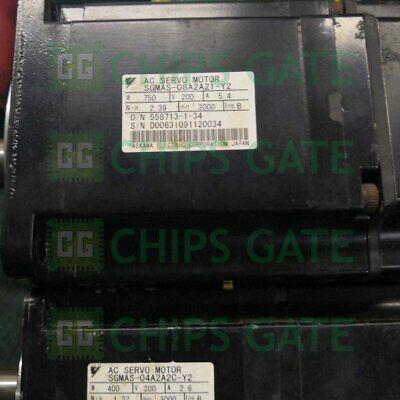 USED Yaskawa servo motor SGMAS-08A2A21-Y2