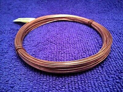 copper round wire unplated 1.0mm x 10m