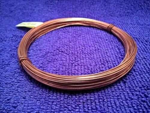 unplated 0.82mm - pure 3m, 5m, 10m Bare Solid Copper Round Wire soft