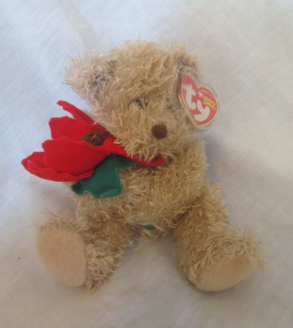 Ty Beanie Baby 2005 Holiday Teddy 13th Generation Hang Tag 2004 Ages ... 93c4939b0d75