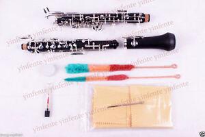 New-Oboe-Professional-Sweet-Sound-C-key-Ebonite-Body-3rd-Octave-left-F-Resonance