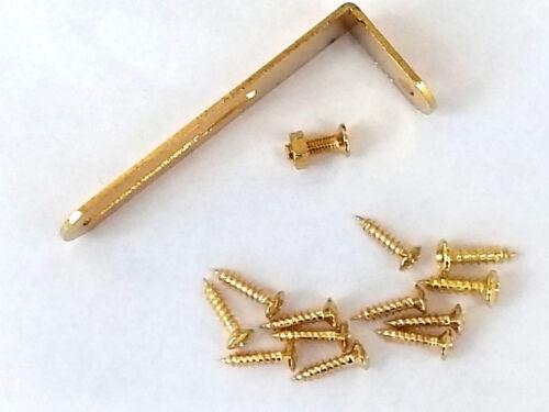 LP pickguard bracket and screw set gold electric guitar scratch plate pick guard