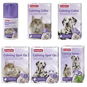 Beaphar-Calming-Dog-Puppy-Cat-Kitten-Spot-On-Collar-Tablets-Home-Spray-Behaviour
