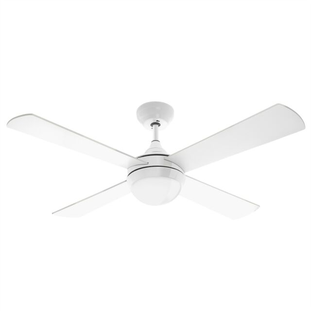 Arlec Boston Ceiling Fan With Led Light Dcf5240 130cm 30w Dc 4 Plywood Blades