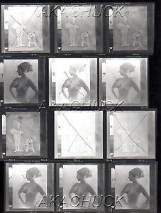 Weird Men w/ a Blonde Babe HENDRICKSON Negative Photograph