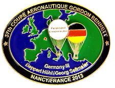 BALLON Pin / Pins - GORDON BENNETT / 57th COUPE AERONAUTIQUE 2013 [3179]