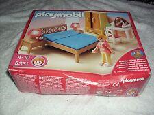 PLAYMOBIL 5331 genitori camera da letto con accendere lampade da comodino NUOVO di zecca