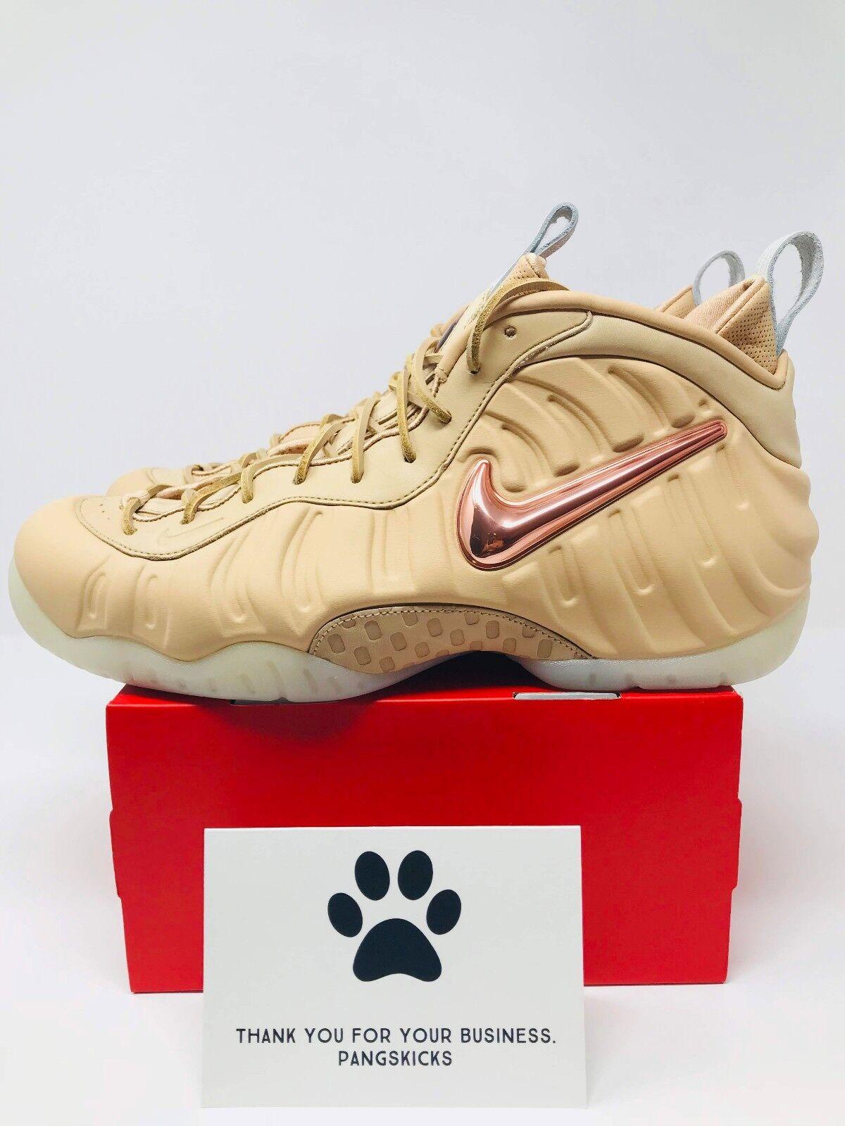 Nike Air Foamposite Pro Premium AS QS 'Vachetta Tan' 920377-200 Size 11.5