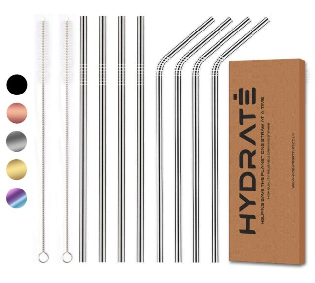 Construction Party Straws set of 8