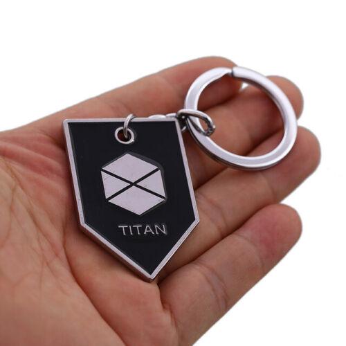 Game Keychain Destiny Warlock Titan Hunter Pendant Keyring Dog Tag Chaveiro