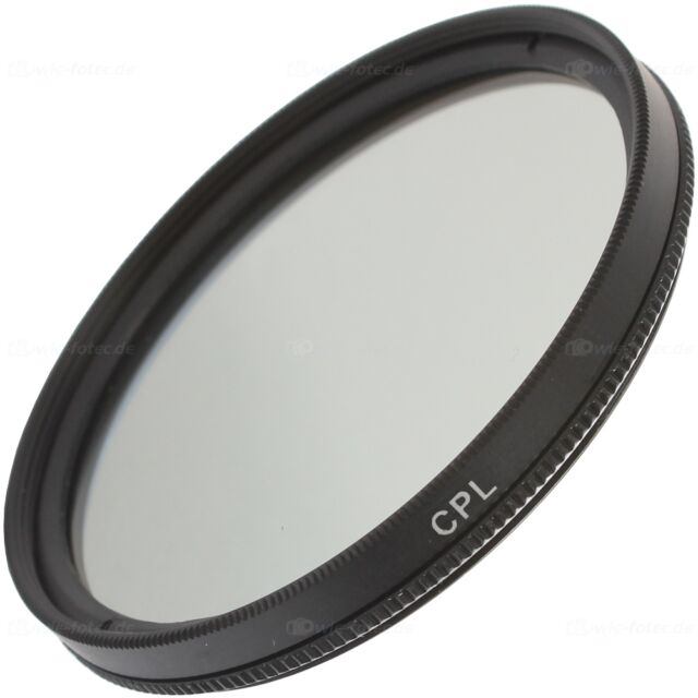 B-Ware 49mm CPL Filter Polfilter Zirkular für 49mm Einschraubanschluss