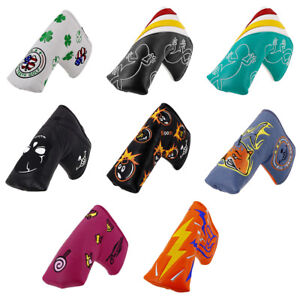 Golf-Headcover-Putter-Blade-Head-Cover-for-Big-Teeth-for-Taylormade-Callaway-New