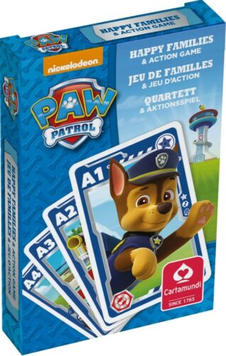 ASS Display Paw Patrol Quartett Paw Patrol Quartette Kinderspiele Kartenspiel