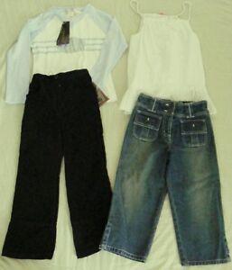 Ladybird-JEANS-TARGET-TOP-RIVERS-velvet-PANTS-l-s-TOP-GIRLS-BULK-Size-6