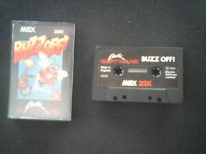 Buzz-Off-X-MSX-Cassette-Original