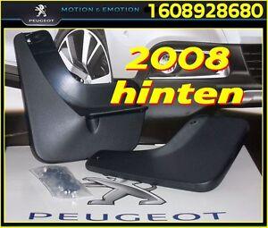 Original Schmutzfänger PEUGEOT 2008 (hinten) Kunststoff - OE 1608928680 - NEU