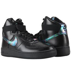 Cielo Arqueólogo tomar  Nike Air Force 1 High '07 Lvl 8 Iridescent Shoes 806403 002 Black Sz 12 |  eBay