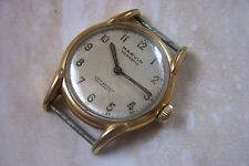 A MARVIN HERMATIC MANUAL WIND WRISTWATCH c.LATE 1940'S