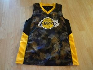ec2142208a5 Men s Los Angeles Lakers M UNK Camo Jersey - LeBron Magic Kobe Shaq ...