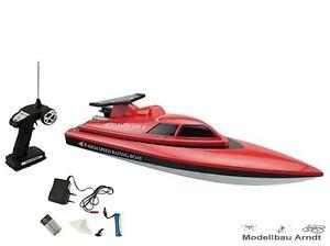 RC-Rennboot-Speedboot-Red-Barracuda-RTR-inkl-Akku-NEU
