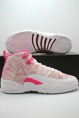 Nike Air Jordan Retro 12 Arctic Punch Ice Cream Pink 510815-101 GS ...