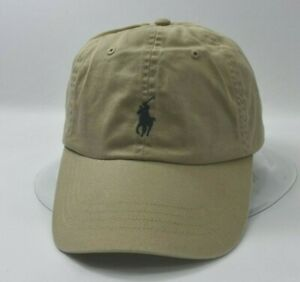 9a6a07742391b5 Image is loading POLO-RALPH-LAUREN-MENS-CLASSIC-CHINO-COTTON-HAT-